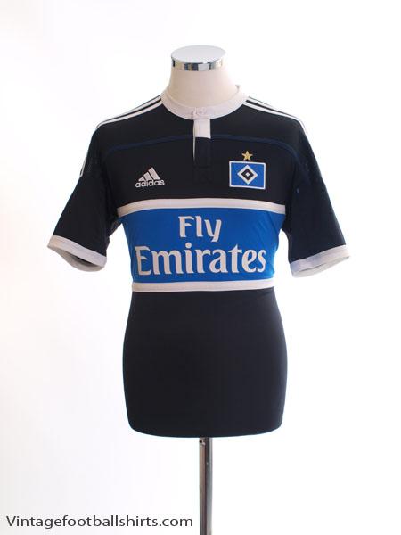 2011-12 Hamburg Away Shirt *Mint* S - V13934