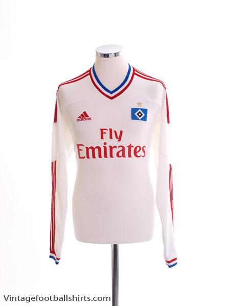 2011-12 Hamburg Home Shirt L/S M