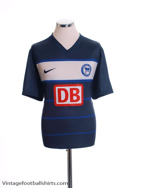 2011-12 Hertha Berlin Home Shirt L