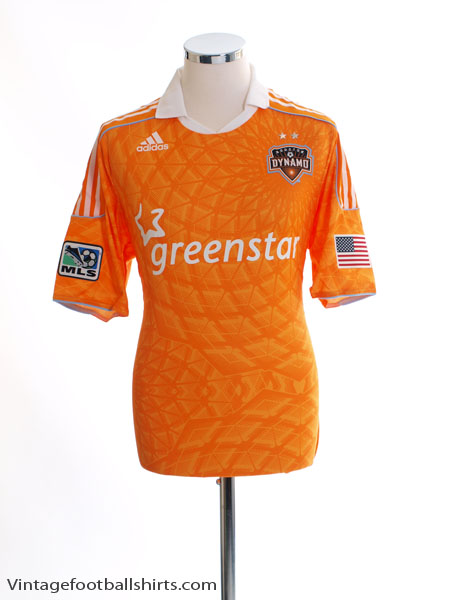 2011-12 Houston Dynamo 'Formotion'  Home Shirt *BNWT* L - E72348