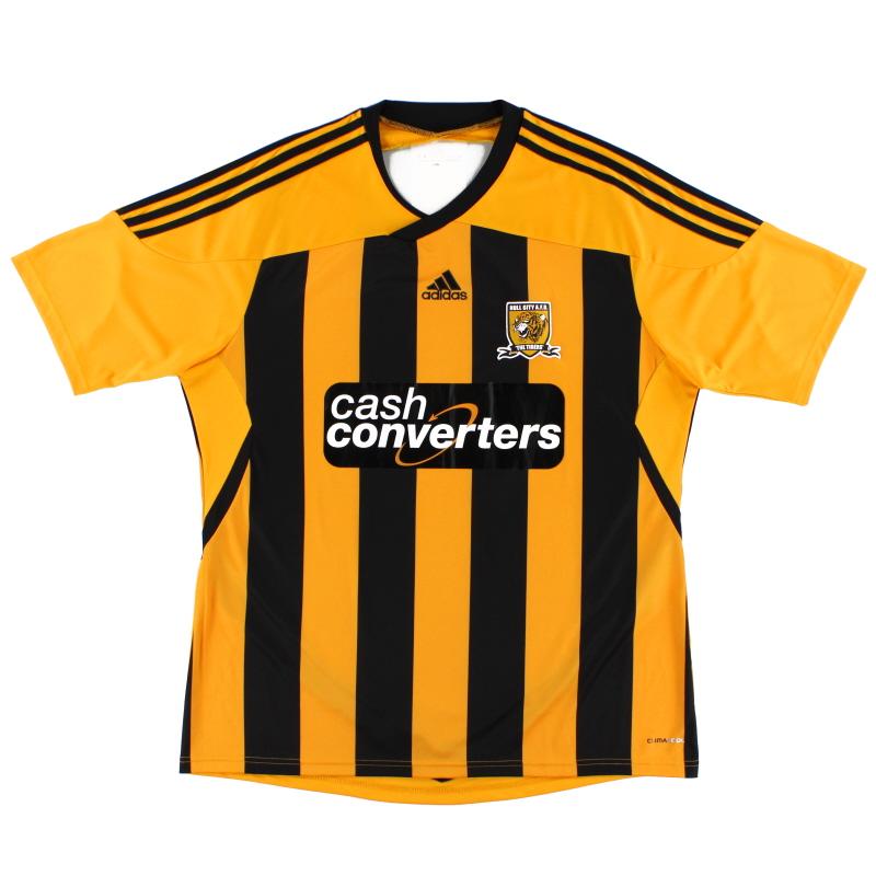 2011-12 Hull City adidas Home Shirt XL - O56551
