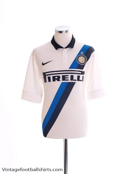 2011-12 Inter Milan Away Shirt *As New* M