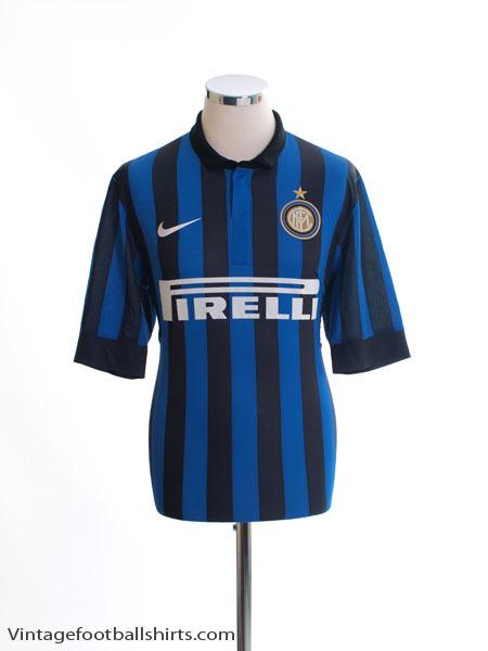 2011-12 Inter Milan Home Shirt *Mint* S