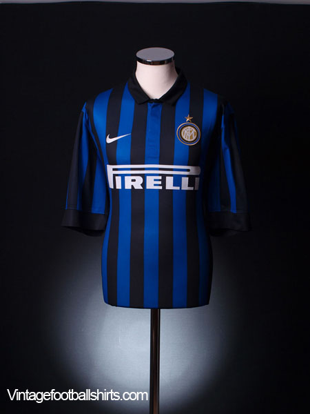2011-12 Inter Milan Home Shirt *Mint* L