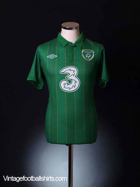2011-12 Ireland Home Shirt S