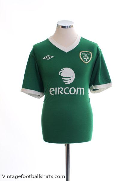2011-12 Ireland Home Shirt XL