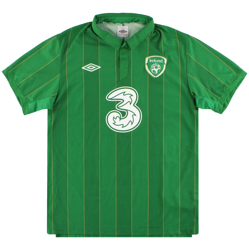 2011-12 Ireland Umbro Home Shirt L