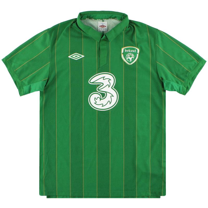 2011-12 Ireland Umbro Home Shirt L