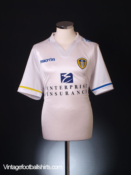 2011-12 Leeds Home Shirt L