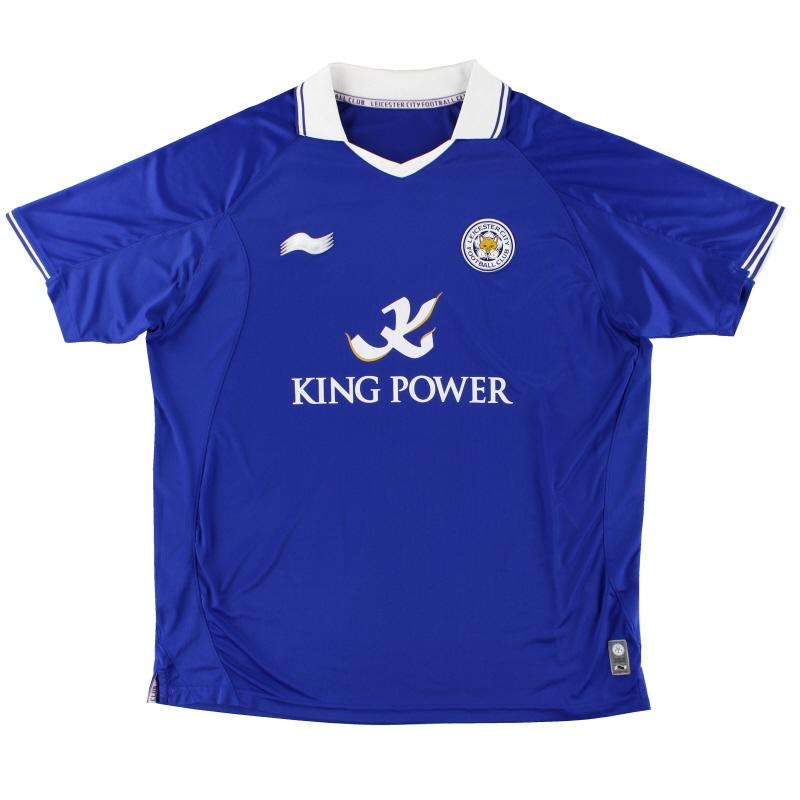 2011-12 Leicester Home Shirt XXL