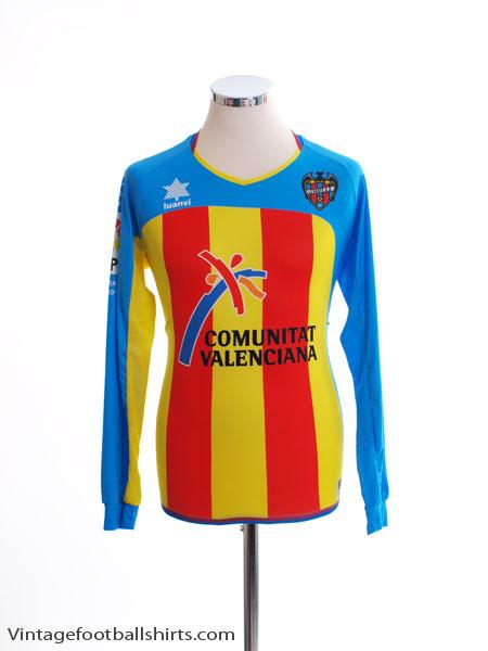2011-12 Levante Third Shirt L/S S