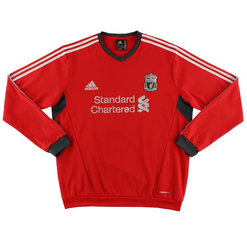 2011-12 Liverpool adidas Sweatshirt *Mint* XXL - V12966