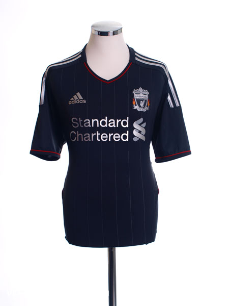 2011-12 Liverpool Away Shirt *BNWT* S