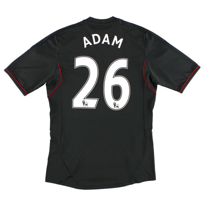 2011-12 Liverpool Away Shirt Adam #26 S