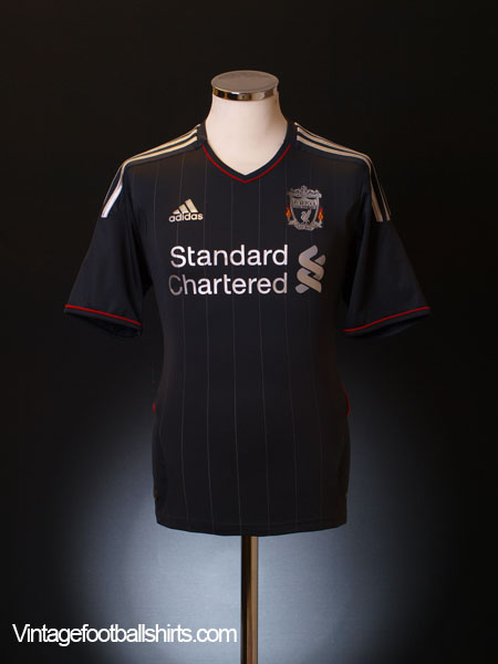 2011-12 Liverpool Away Shirt L