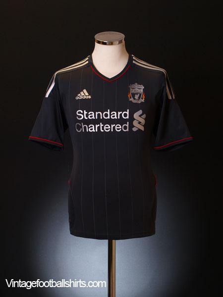2011-12 Liverpool Away Shirt XXL