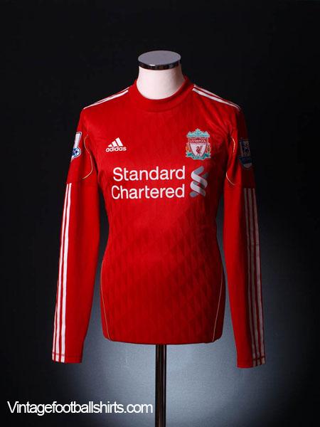 f122ebb2448 2011-12 Liverpool Match Issue Home Shirt Suarez  7 L S L for sale