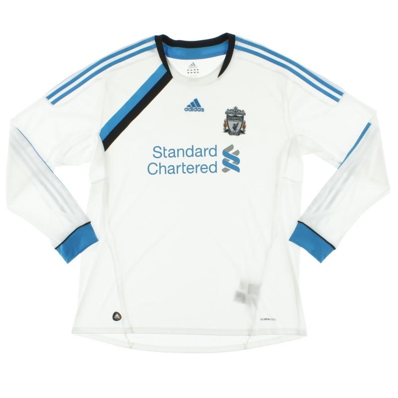 2011-12 Liverpool Third Shirt L/S XXL - V13857