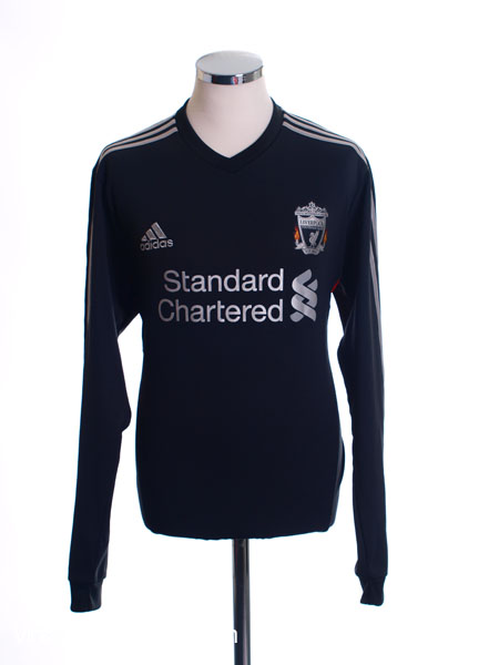 2011-12 Liverpool adidas Training Jumper XL