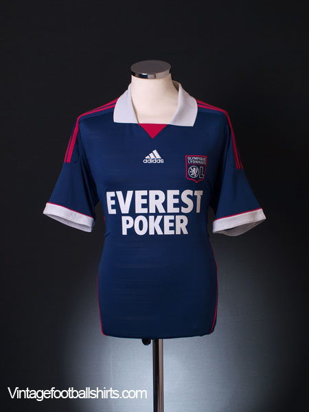2011-12 Lyon Away Shirt L