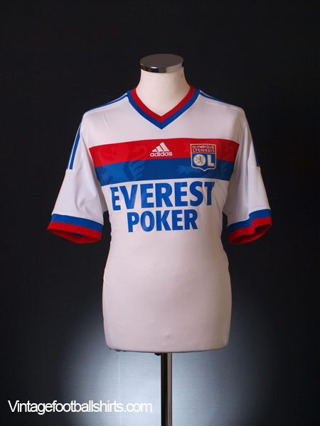 2011-12 Lyon Home Shirt L