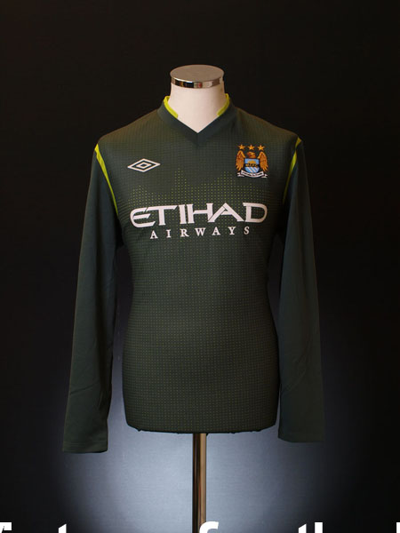 2011-12 Manchester City Goalkeeper Shirt *BNWT* L/S M