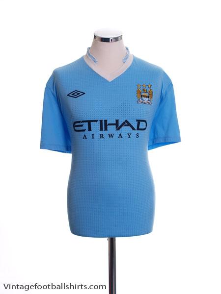 2011-12 Manchester City Home Shirt L