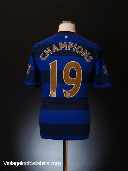 2011-12 Manchester United Away Shirt Champions #19 *BNWT* XXL