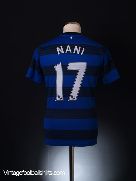 2011-12 Manchester United Away Shirt Nani #17 XL.Boys