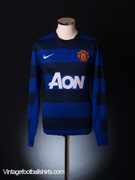 2011-12 Manchester United Away Shirt *BNWT* L/S M
