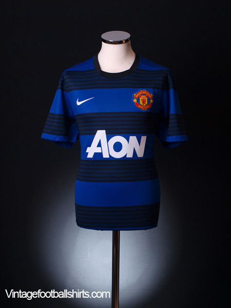 2011-12 Manchester United Away Shirt *Mint* M
