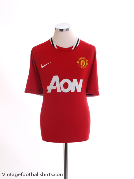 2011-12 Manchester United Home Shirt M