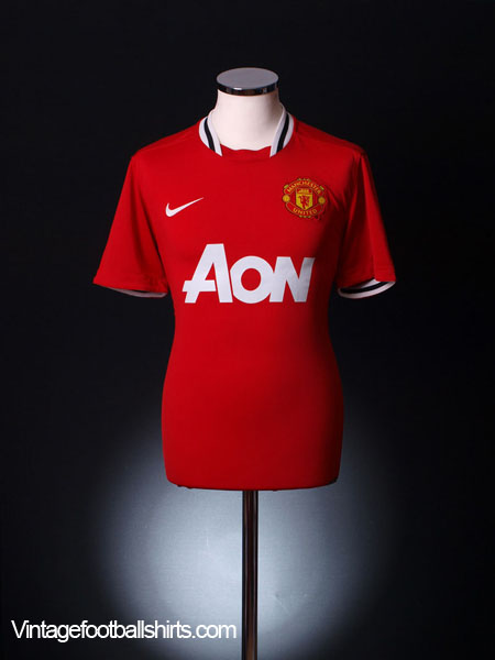 2011-12 Manchester United Home Shirt L
