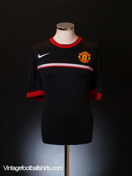 2011-12 Manchester United Nike Pre-Match Training Shirt XL