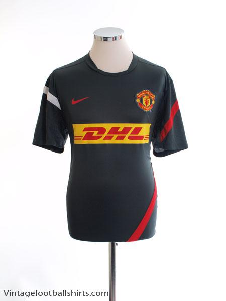 2011-12 Manchester United Training Shirt *Mint* L - 423942-060