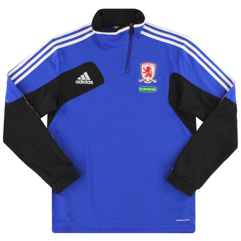 2011-12 Middlesbrough adidas 1/2 Zip Training Jacket M - X10502