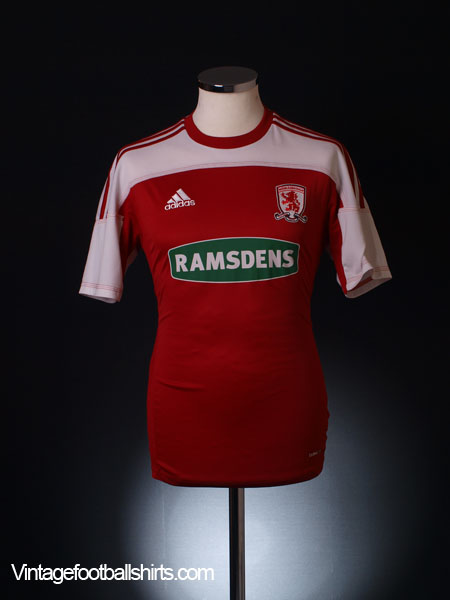 2011-12 Middlesbrough Home Shirt S
