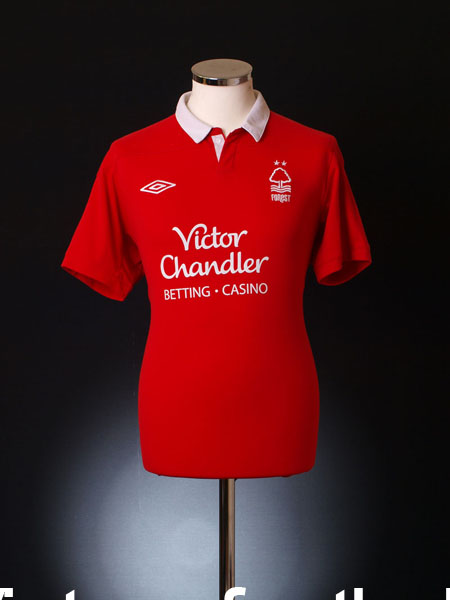 2011-12 Nottingham Forest Home Shirt M