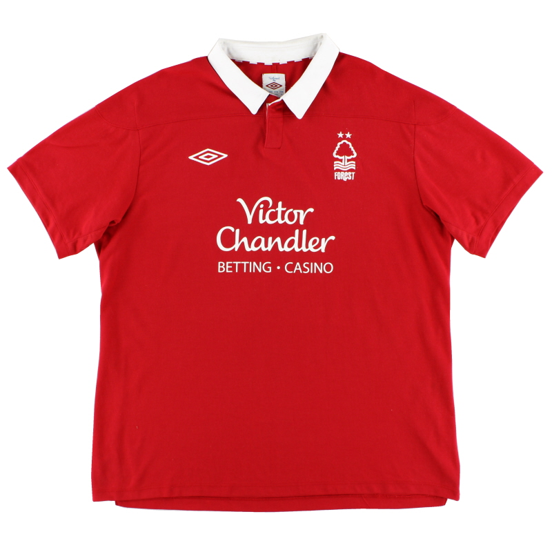2011-12 Nottingham Forest Home Shirt XL