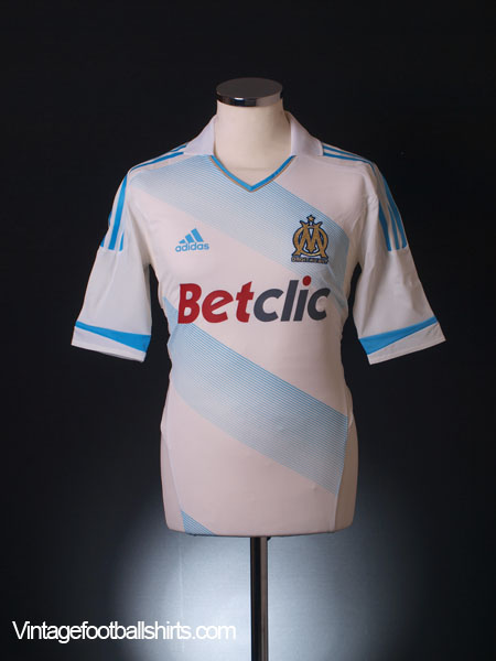 2011-12 Olympique Marseille TechFit Player Issue Home Shirt *BNIB*