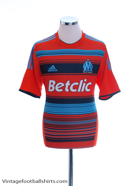 2011-12 Olympique Marseille Third Shirt *Mint* M - V13676