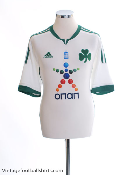 2011-12 Panathinaikos Away Shirt *Mint* L - V13332