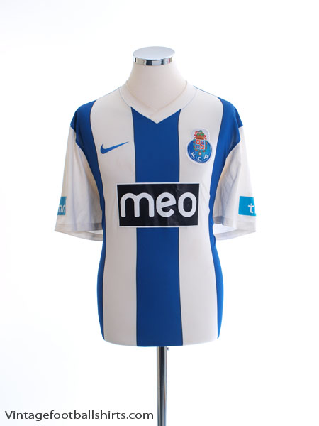 2011-12 Porto Home Shirt XL
