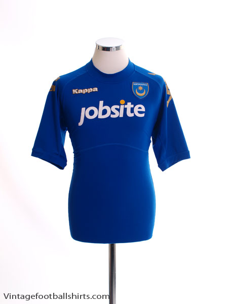 2011-12 Portsmouth Home Shirt *Mint* M