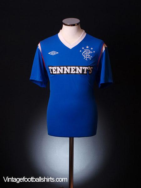 2011-12 Rangers Home Shirt *As new* L