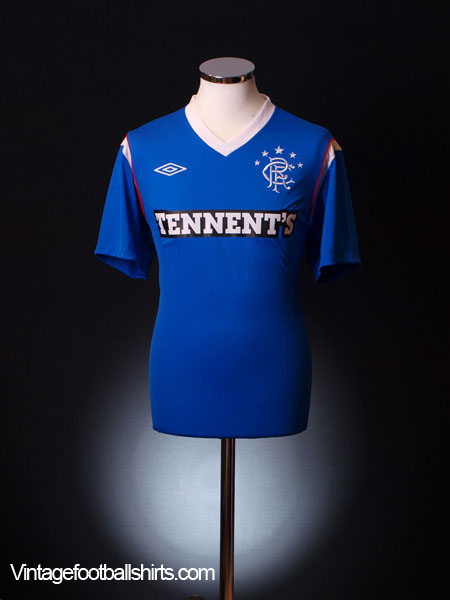 2011-12 Rangers Home Shirt *Mint* M