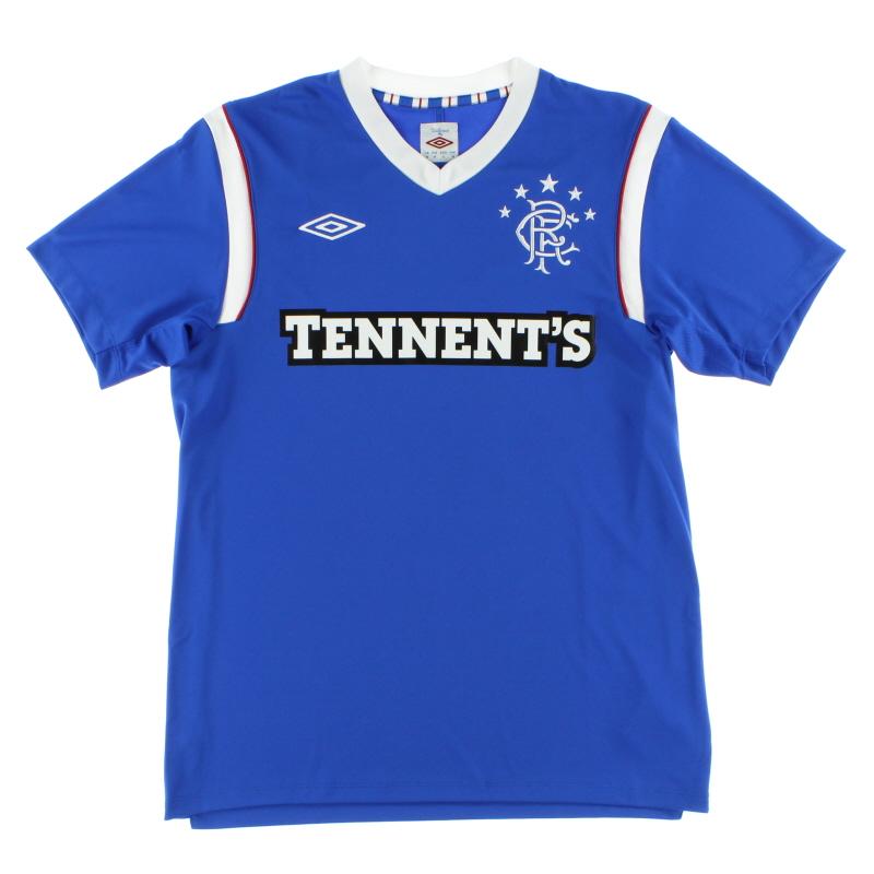 2011-12 Rangers Home Shirt *Mint* M