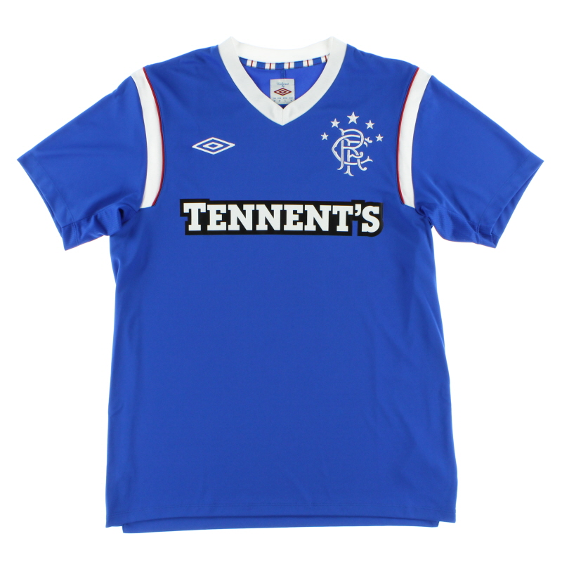 2011-12 Rangers Home Shirt XL