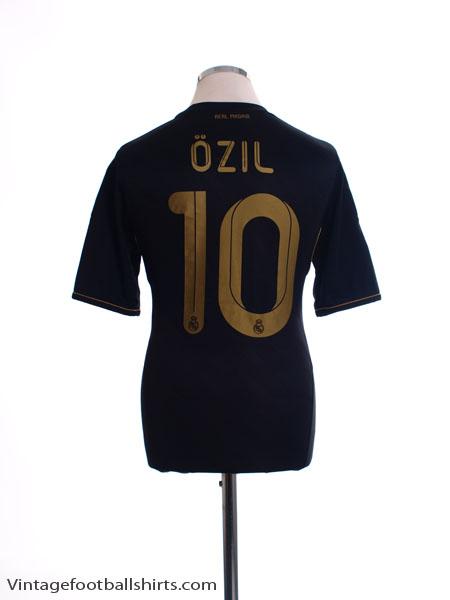 2011-12 Real Madrid Away Shirt Ozil #10 S