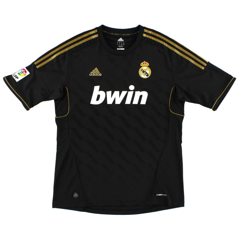 2011-12 Real Madrid Away Shirt L